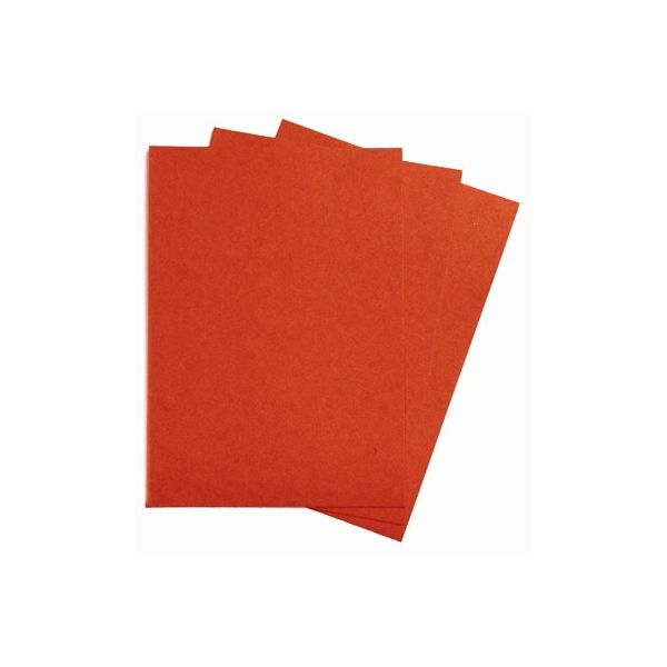 3 Feuilles de Kraft Orange 325 gr