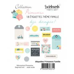 18 labels: Primavera Famille