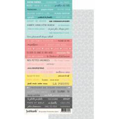 Labels sheet: Primavera Dymo