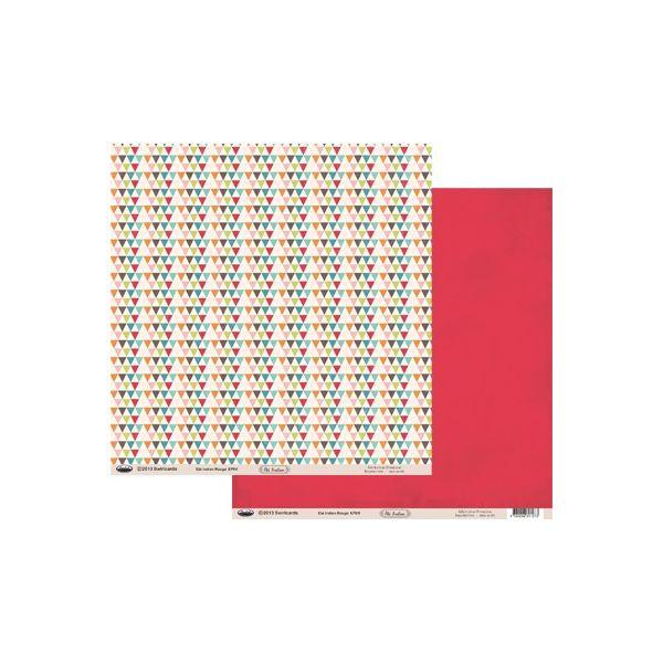 Paper Eté Indien Rouge