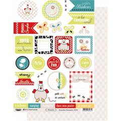 Labels sheet: Champêtre
