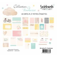 Lot de 28 cartes Tendresse