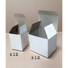 24 boîtes en carton