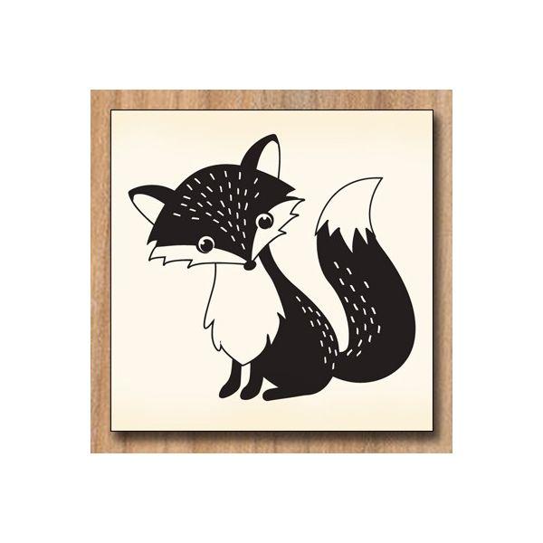 Wood stamp: Renard