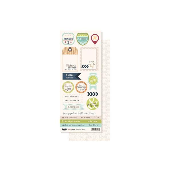 Mylo Sport Planche d'étiquettes
