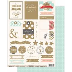 Labels sheet: Orchidée n°1