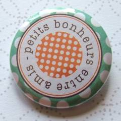 Badge 35 mm Romarin Amis