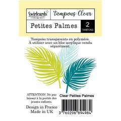 Clear stamp Petites Palmes