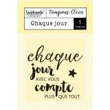 Clear stamp Chaque jour