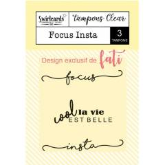 Clear stamp Focus Insta