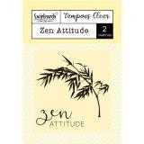 Clear stamp Zen attitude