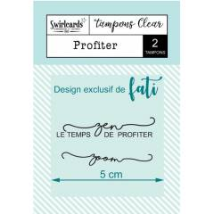 Clear stamp Profiter