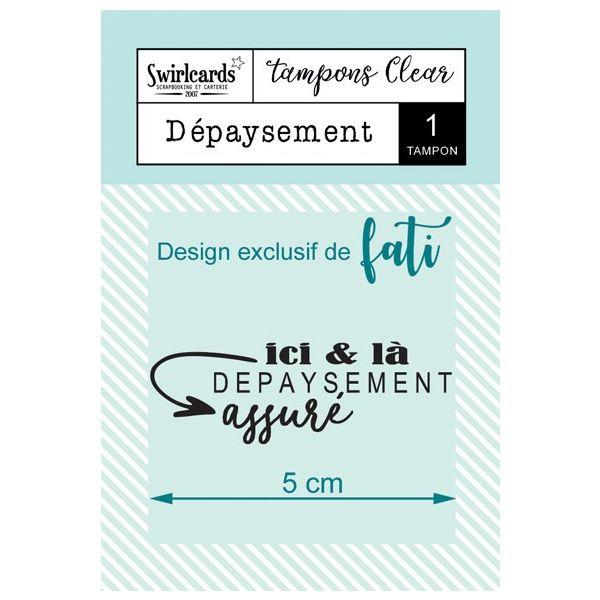 Tampon Clear Dépaysement