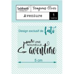 Clear stamp Aventure