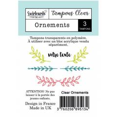 Tampon Clear Ornements