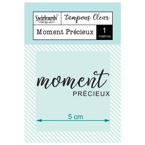 Tampon Clear Moment Précieux