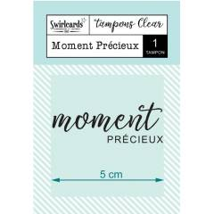 Clear stamp Moment Précieux