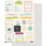 Labels sheet: Confettis Famille