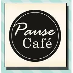 Tampon Bois Pause Café