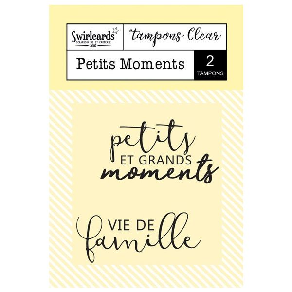 Tampons Clear Petits Moments