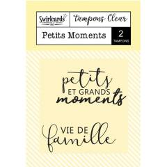 Clear stamp Petits Moments