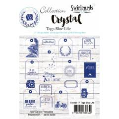 Crystal Blue Life Lot de 17 tags
