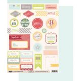 Labels sheet: Floride Famille