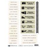Planche d'étiquettes A4 Floride Typewritter