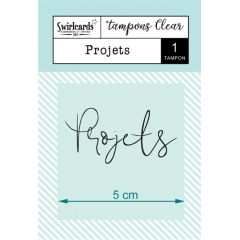 "Clear Stamp ""Projets"""