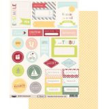 Labels sheet: Floride Vacances