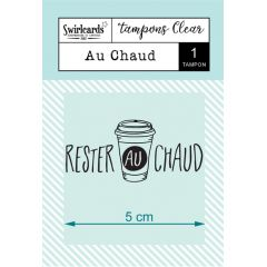 "Clear Stamp ""Au Chaud"""