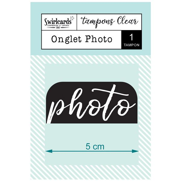 "Tampon Clear ""Onglet Photo"""