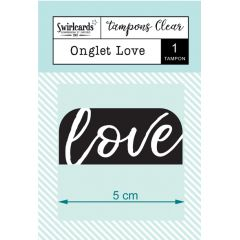 "Clear Stamp ""Onglet Love"""
