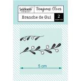 Clear Stamps Branche de Gui