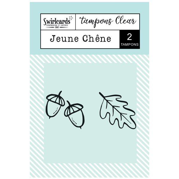 "Tampons Clear ""Jeune Chêne"""