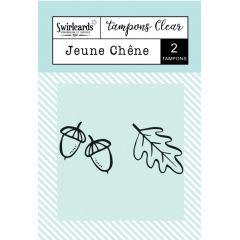 Clear Stamps Jeune Chêne