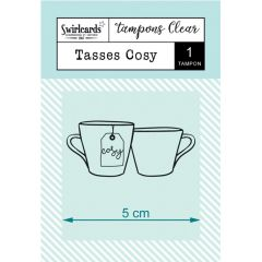 "Clear Stamp ""Tasses Cosy"""