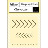 "Clear Stamps ""Chevrons"""