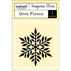 Clear Stamp Gros Flocon