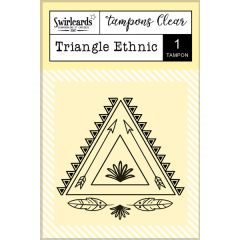 "Tampon Clear ""Triangle Ethnic"""