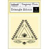 Clear Stamp Triangle Ethnic