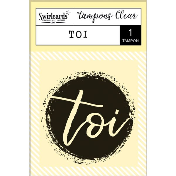 "Clear Stamp ""TOI"""