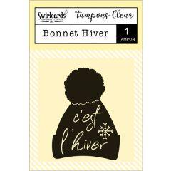 "Tampon Clear ""Bonnet Hiver"""