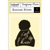 "Clear Stamp ""Bonnet Hiver"""