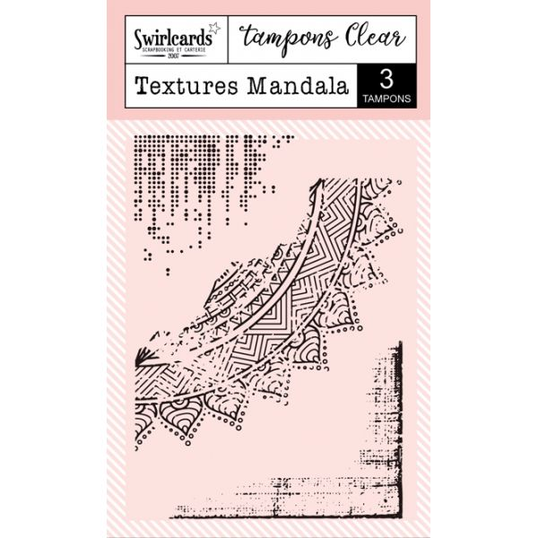 """Clear Stamps """"Texture Mandala"""""""