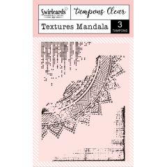 "Tampons Clear ""Texture Mandala"""