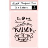 "Tampon Clear ""Ma Raison"""