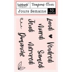 "Clear Stamps ""Jours Semaine"""