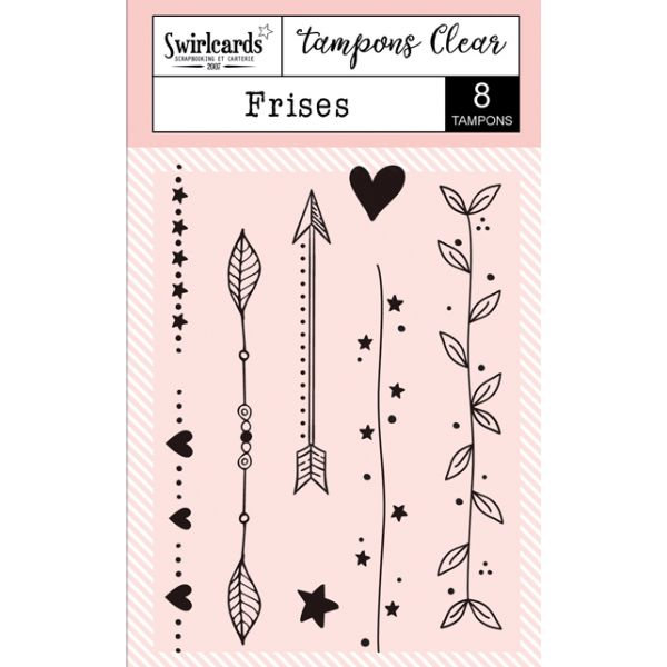 "Tampons Clear ""Frises"""