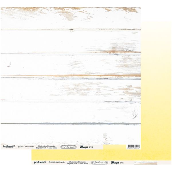 Santorini Papier Ithaque